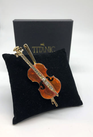 CUSTOM MADE VIOLIN PIN