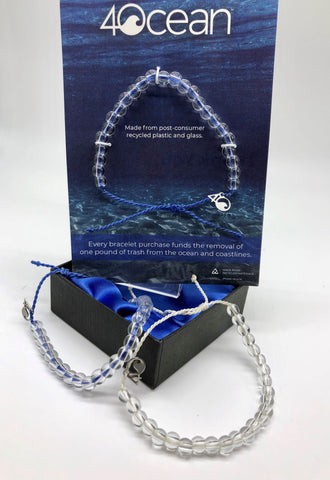 EACH PURCHASE OF THE 4OCEAN BRACELET BENEFITS OCEAN CLEAN-UP