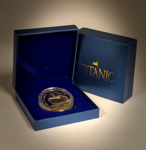 TITANIC TWO SIDED COLLECTOR COINS 3 STYLES