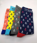 TITANIC ANCHOR SOCKS