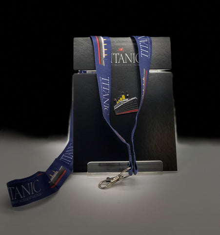 LANYARD AND LAPEL PIN SET