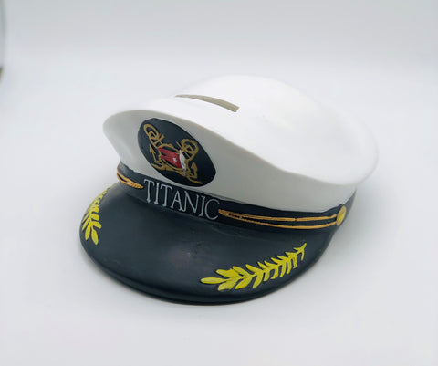 TITANIC CAPTAIN HAT BANK