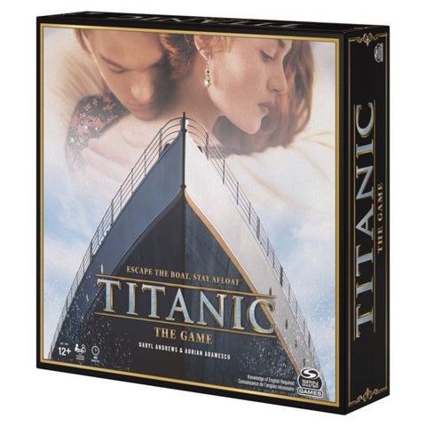JUST IN TIME FOR THE HOLIDAYS !!  TITANIC THE GAME