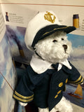 TITANIC PLUSH OFFICER BEAR 11""