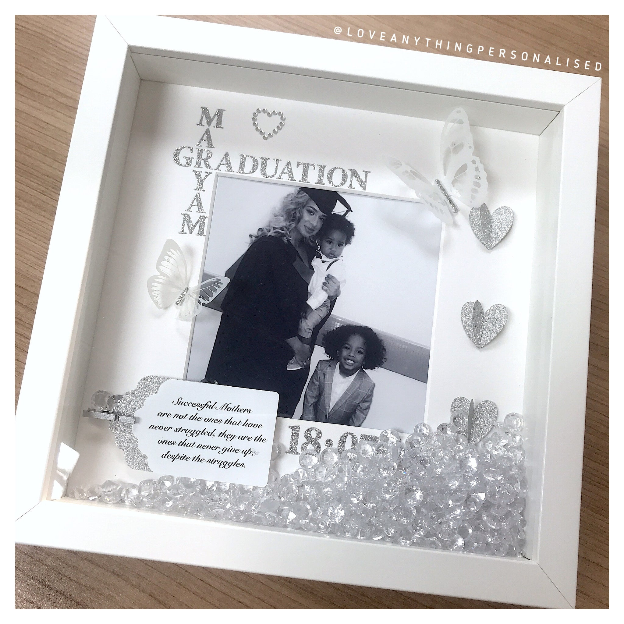 Graduation Name Collage Picture Frame – LoveAnythingPersonalised