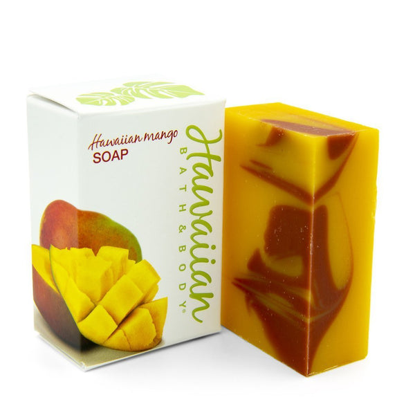 ハワイアン・マンゴ Hawaiian Mango natural soap with Kukui oil | Hawaiian Bath & Body®
