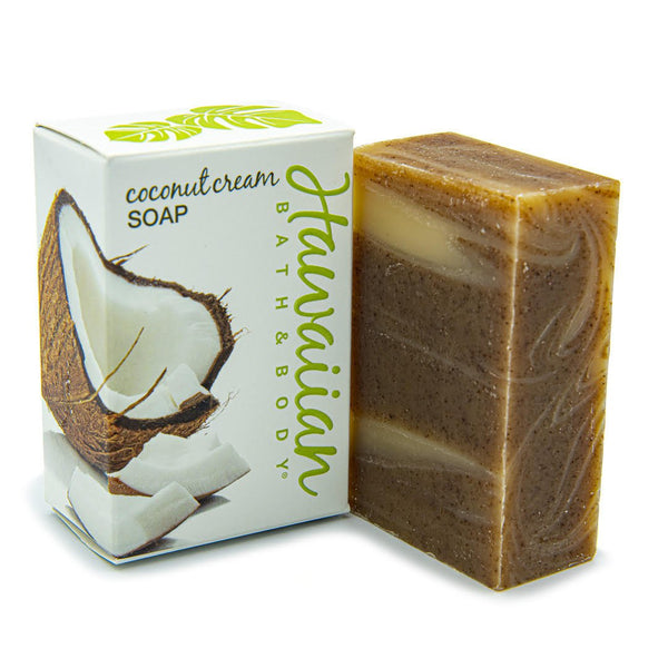 Handcrafted natural coconut soap with kukui oil | Hawaiian Bath & Body®