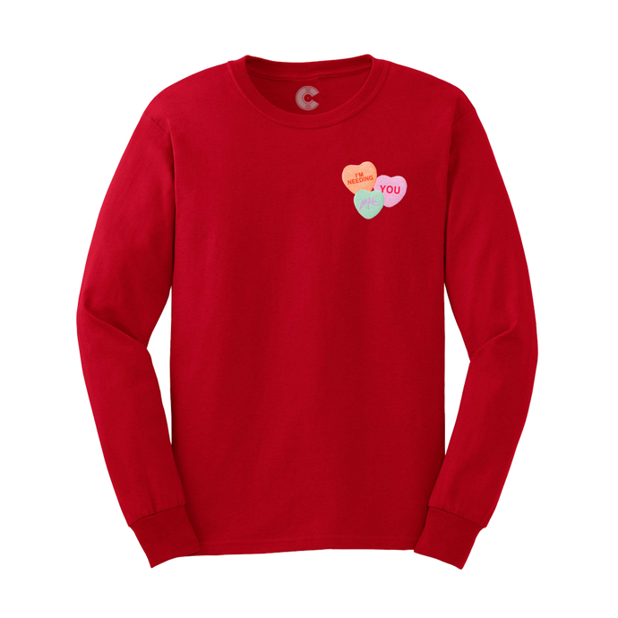 Red Candy Longsleeve  - Long Sleeve Tee