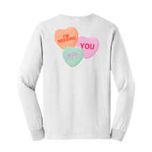 Load image into Gallery viewer, White Candy Longsleeve  - Long Sleeve Tee