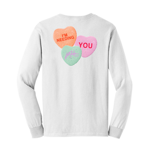 White Candy Longsleeve  - Long Sleeve Tee