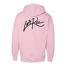 Load image into Gallery viewer, Pink Logo Hoodie