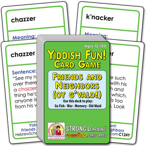 Yiddish Fun! Friends and Neighbors C124Y