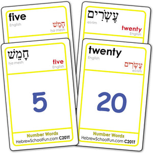 Number Words (with Transliteration) C201T