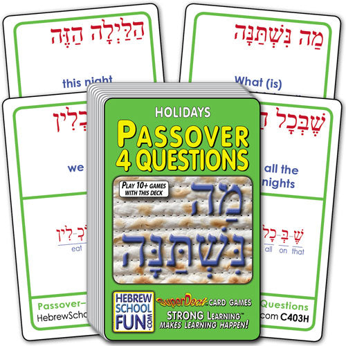 Passover - 4 Questions C403H