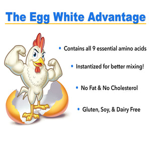 Strawberry Egg White Protein Powder