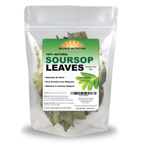 Dried Soursop Leaves