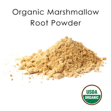 Load image into Gallery viewer, USDA Certified Organic Marshmallow Root Powder
