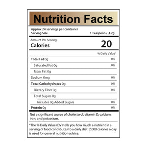 Organic Marshmallow Root Powder Nutrition Facts