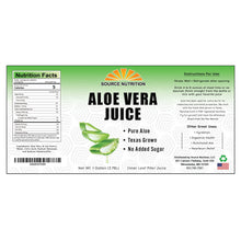 Load image into Gallery viewer, Aloe Vera Jucie Label