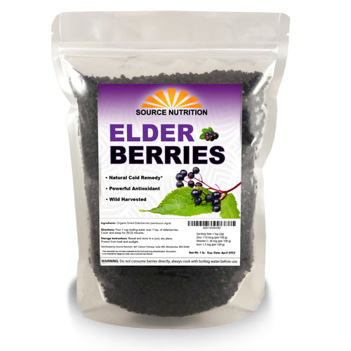 dried elderberries for sale
