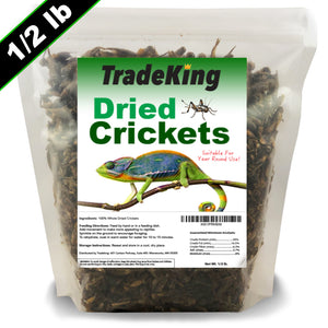 1/2 lb Freeze Dried Crickets for sale