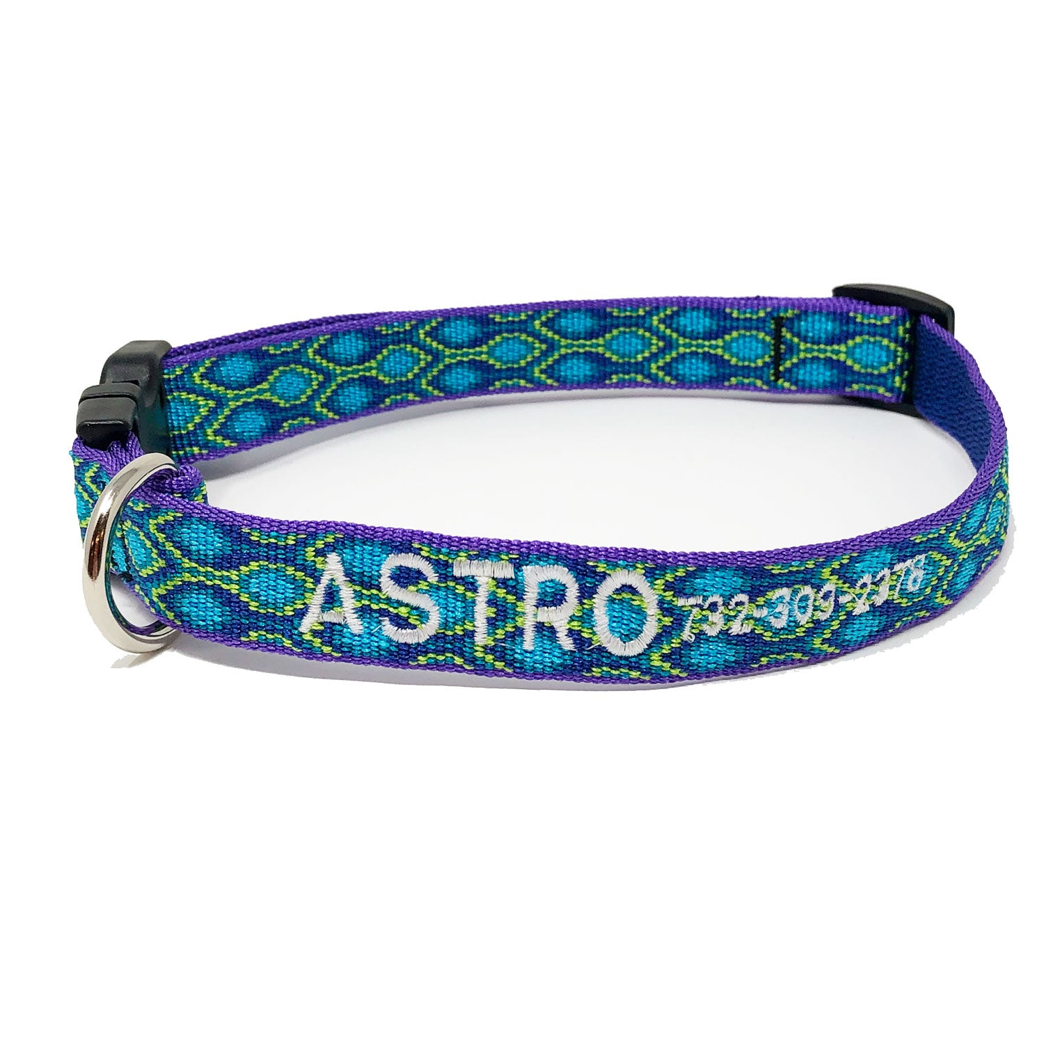 Personalized Rain Song Collar