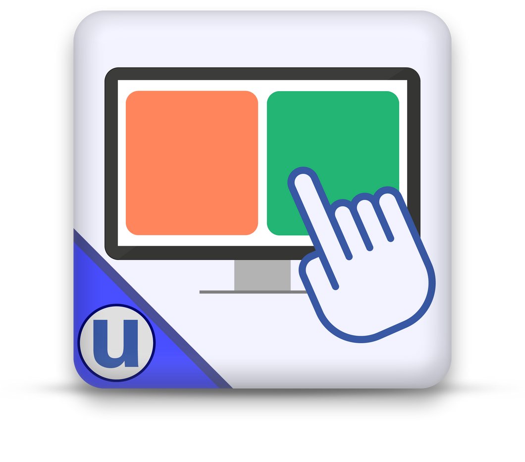 uDisplay Button