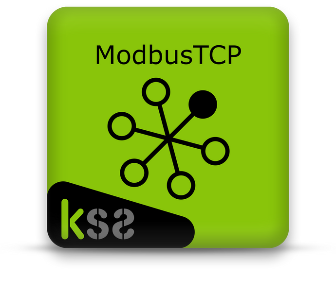 Modbus TCP Server Advanced (64 In, 64 Out, Workflow)