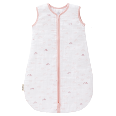 Fresk muslin sleeping bag - Pink rainbows [it] Sacco nanna Fresk in mussolina - arcobaleni rosa