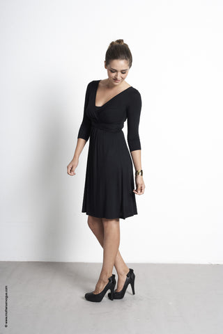 Wrap 3/4 Sleeve Dress [it] Abito Wrap con le maniche ¾