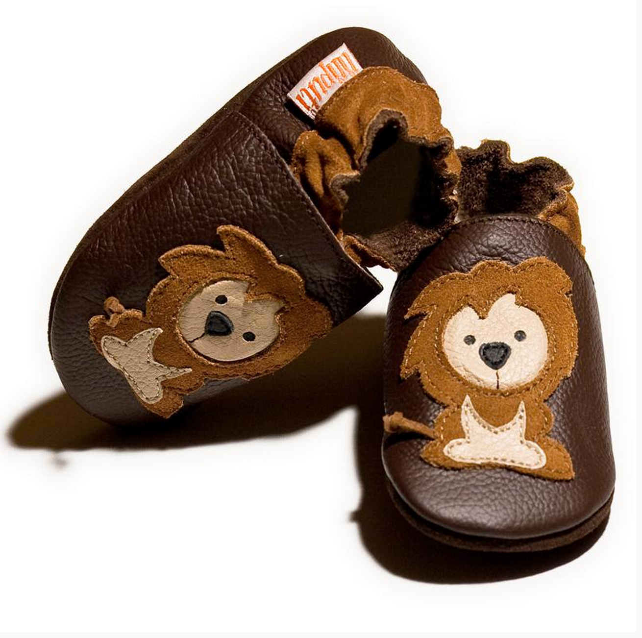 Liliputi Soft Baby Shoes - Protector Lions [it] Scarpine morbide in pelle Liliputi - Leone