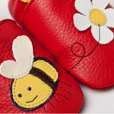 Liliputi Soft Baby Shoes - Little bee