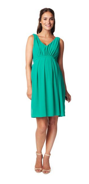 Maternity dress Belem - Green [it] Abito premaman Belem - Verde