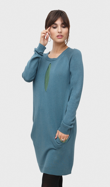 Maternity and Nursing Dress in Wool - Coco [it] Abito Premaman e da allattamento in Lana - Coco