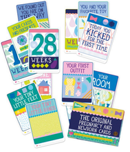 Carica l'immagine nel visualizzatore di Gallery, The Original Pregnancy and Newborn Milestone Cards (English)