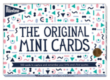 Carica l'immagine nel visualizzatore di Gallery, Milestone Baby Cards - The Original Mini Cards (English)