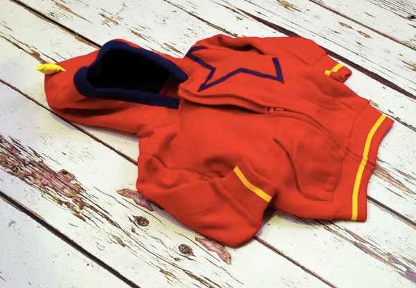 Blade & Rose Red Star Hoodie- Blade & Rose Felpa Stella Rosso