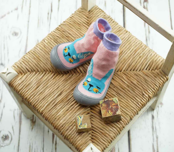 Blade & Rose Bunny Sock Shoe - Blade & Rose Calze Gommate Coniglietto