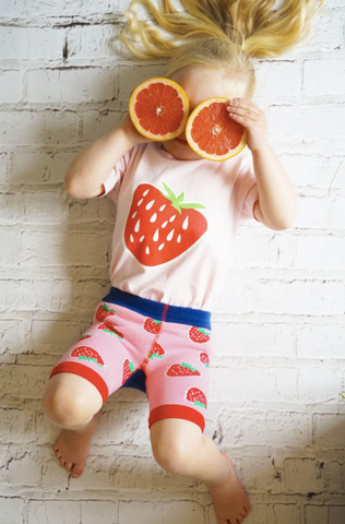 Blade & Rose Leggings Corti - Strawberry/Fragole