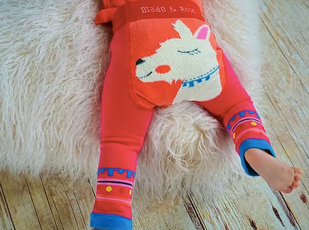 Blade & Rose Pink Lama Leggings