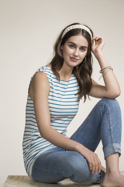 Sleeveless maternity and nursing top Simone [it] Top senza maniche premaman e allattamento Simone