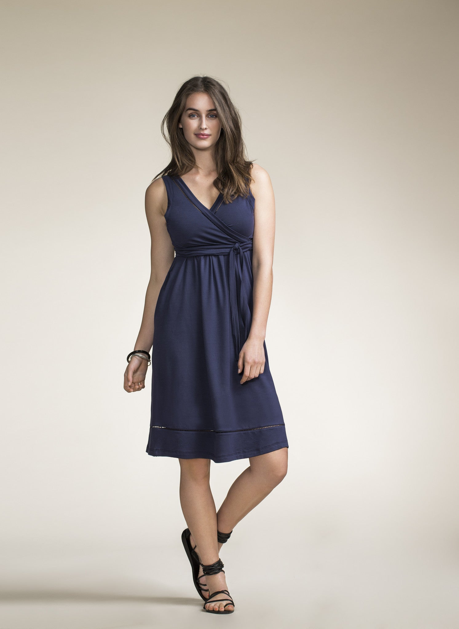 Maternity and nursing dress Juno [it] Abito senza maniche premaman e allattamento Juno