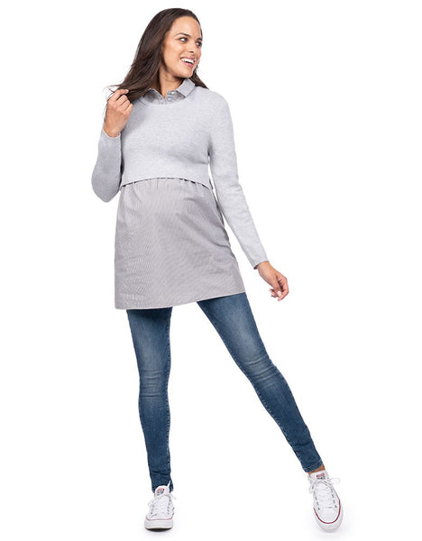 2 in 1 Maternity & Nursing Tunic