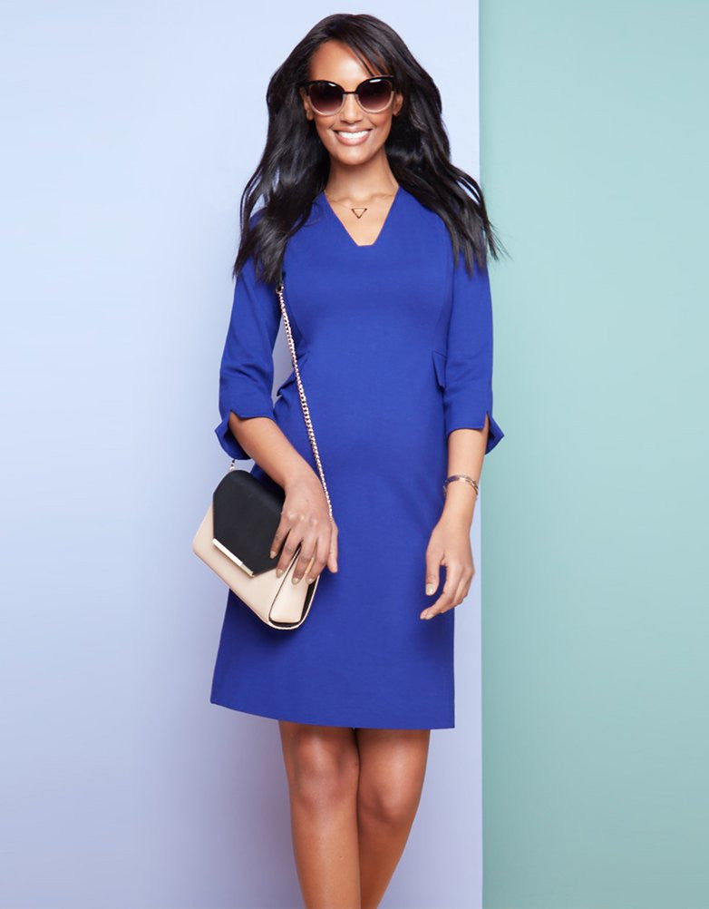 Everett Tailored Maternity Dress [it] Vestito prémaman elegante Everett