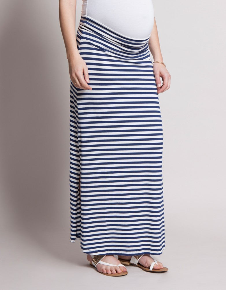 Tina Nautical Maxi Skirt [it] Maxi Gonna Nautical Tina