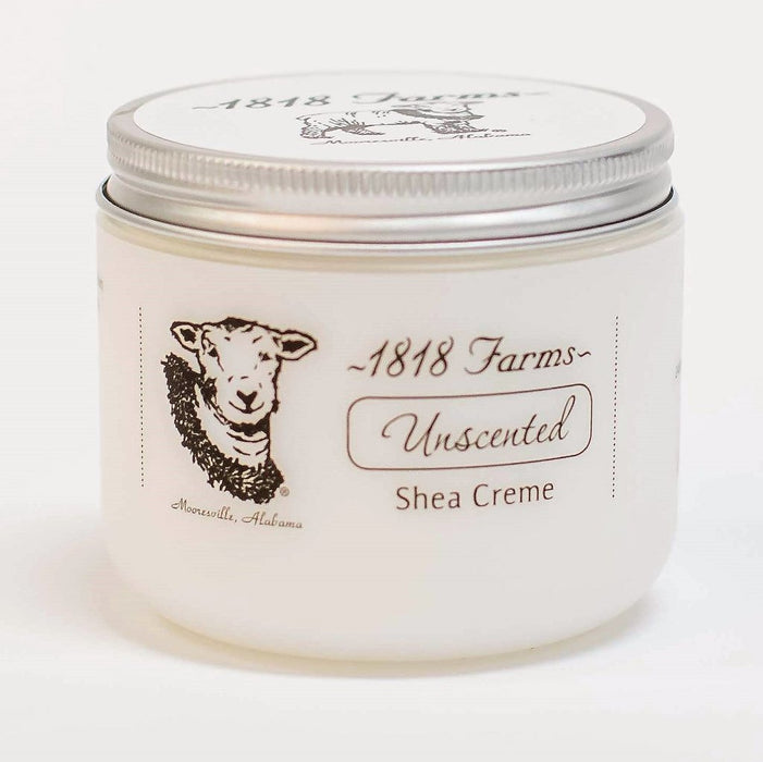 Shea Cream Unscented 4oz