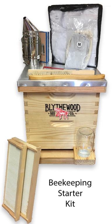 8 Frame Beginner Beekeeping Starter Kit