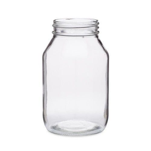 32 oz Clear Glass General Purpose Jar