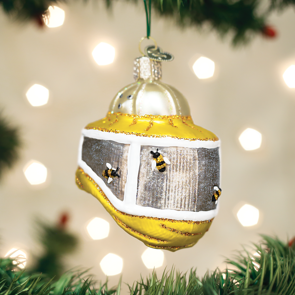 Beekeepers Hood Christmas Ornament