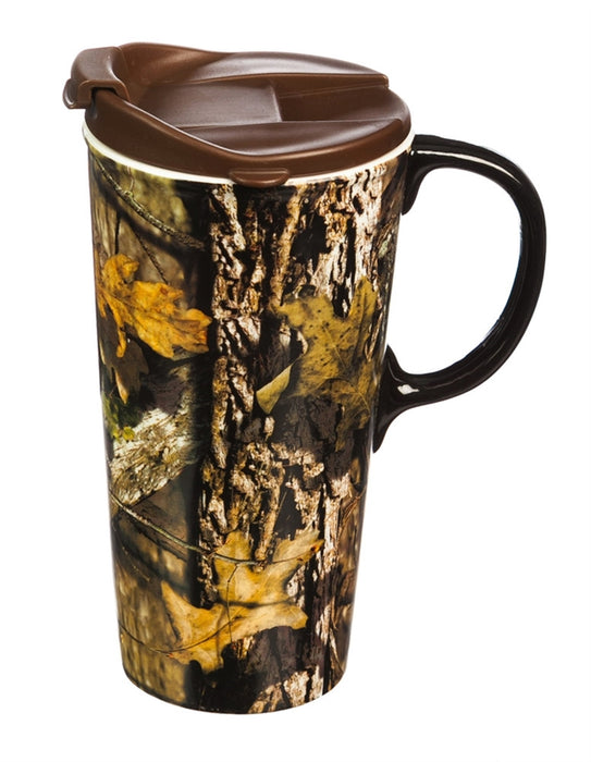 Ceramic Travel Mug |Camo